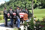 Cpl. Francisco Ramos Rivera was an MIA from the Korean War. He was identified in 2017 and returned home to his family for burial at the Puerto Rico National Cemetery in Bayamon. A Puerto Rico Army National Guard honor guard participated.