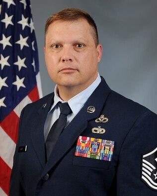 Official photo of Master Sgt. Ruan Brits.