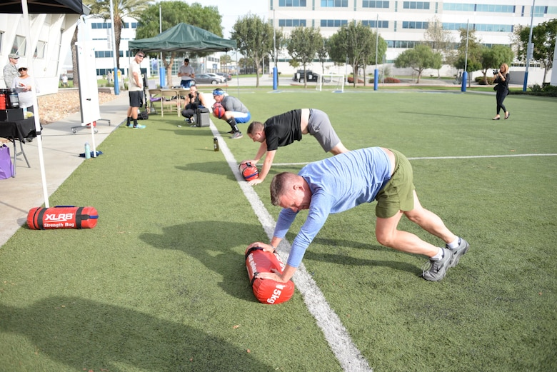 Wounded Warrior Workout