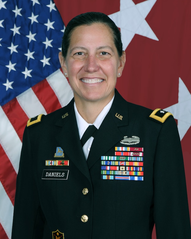 MG Jody J. Daniels official photo.