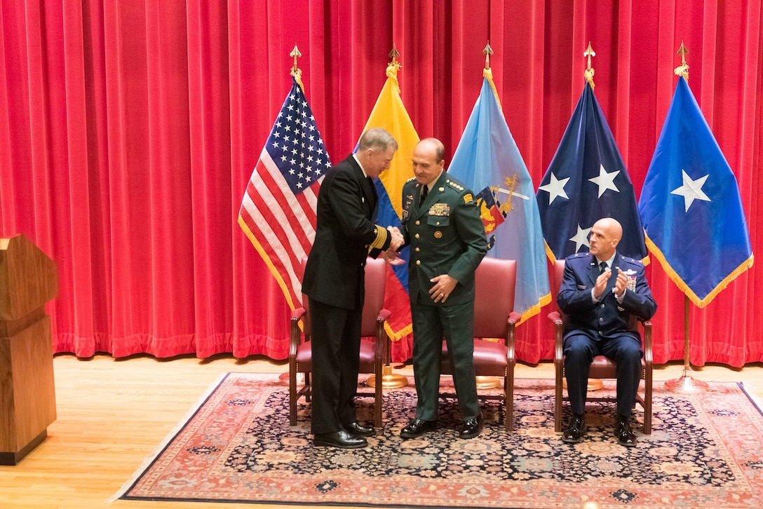 General Gomez Nieto IHOF Ceremony