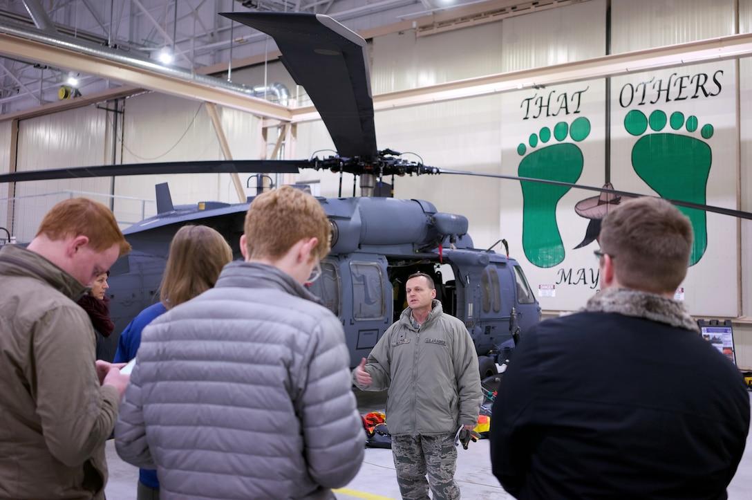 Alaska State Legislators visit 176th Wing.