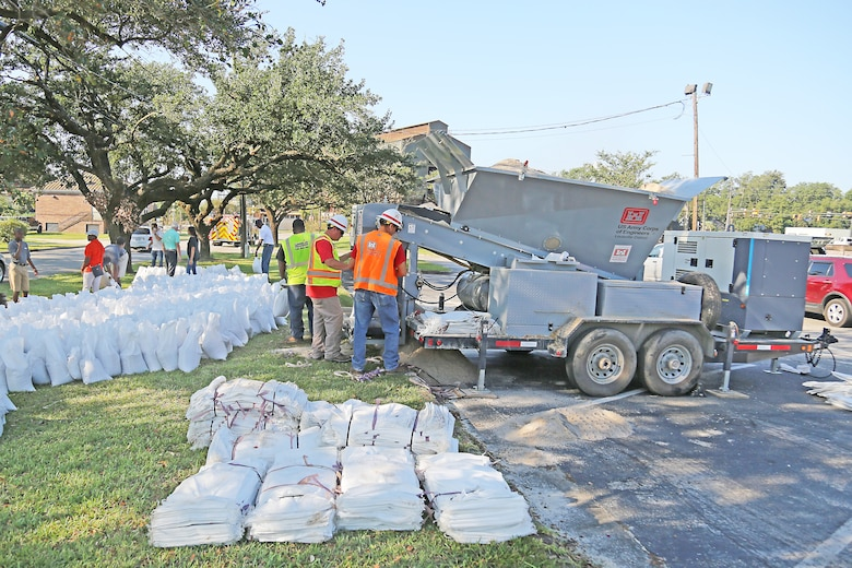 Filling Sandbags for Georgetown County