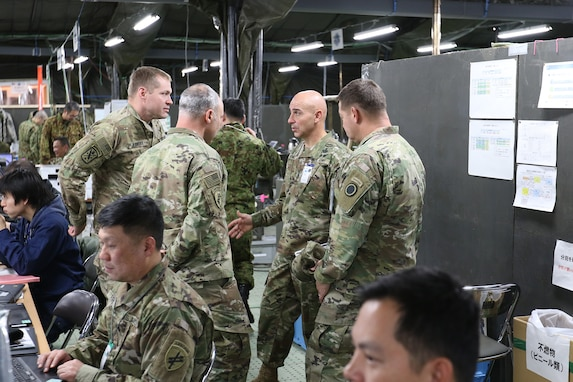 United States Army Pacific Command, Senior Enlisted Advisor, Visits Japan For Exercise Yama Sakura