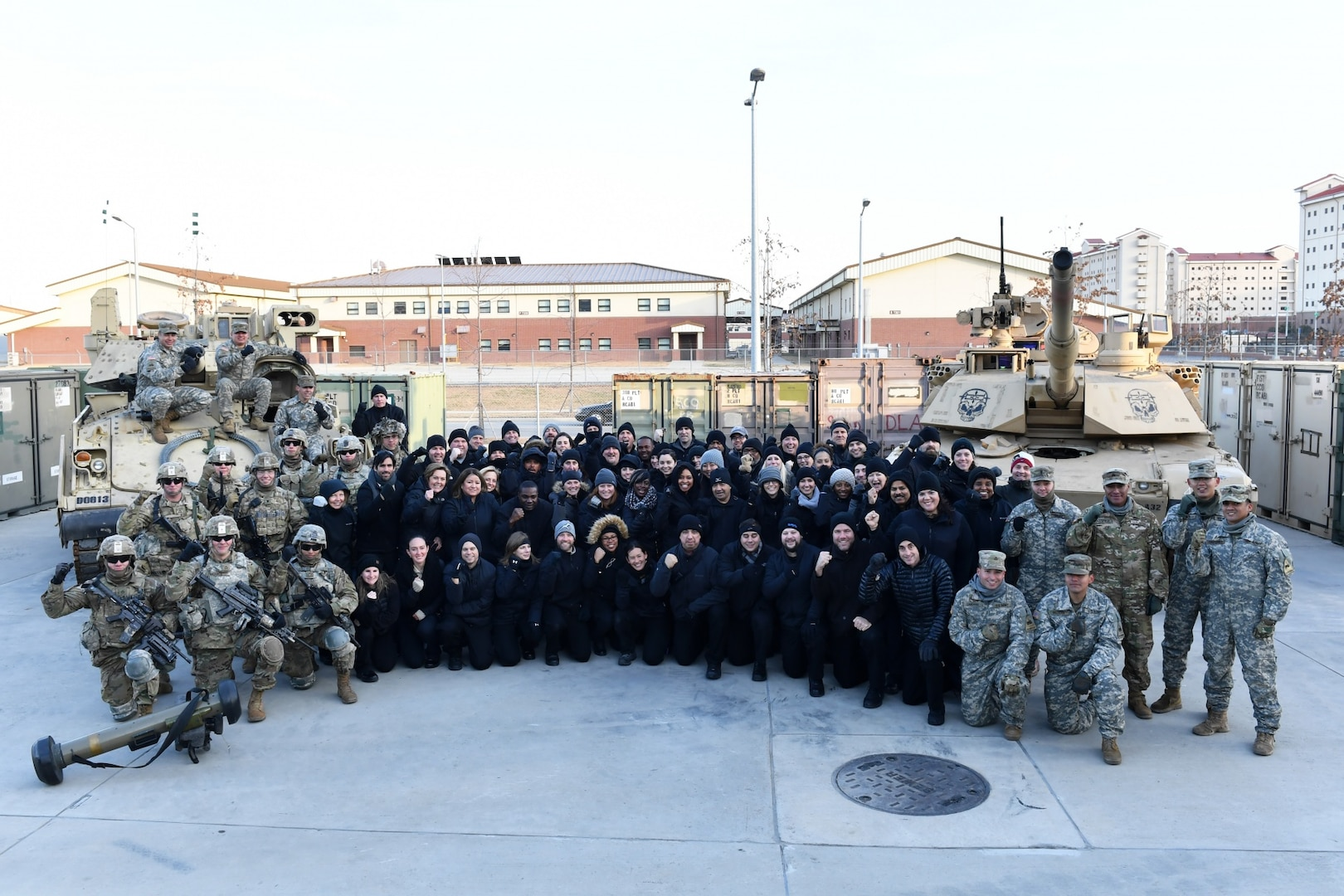 DOD Leaders Engage Warrior Division Soldiers in South Korea