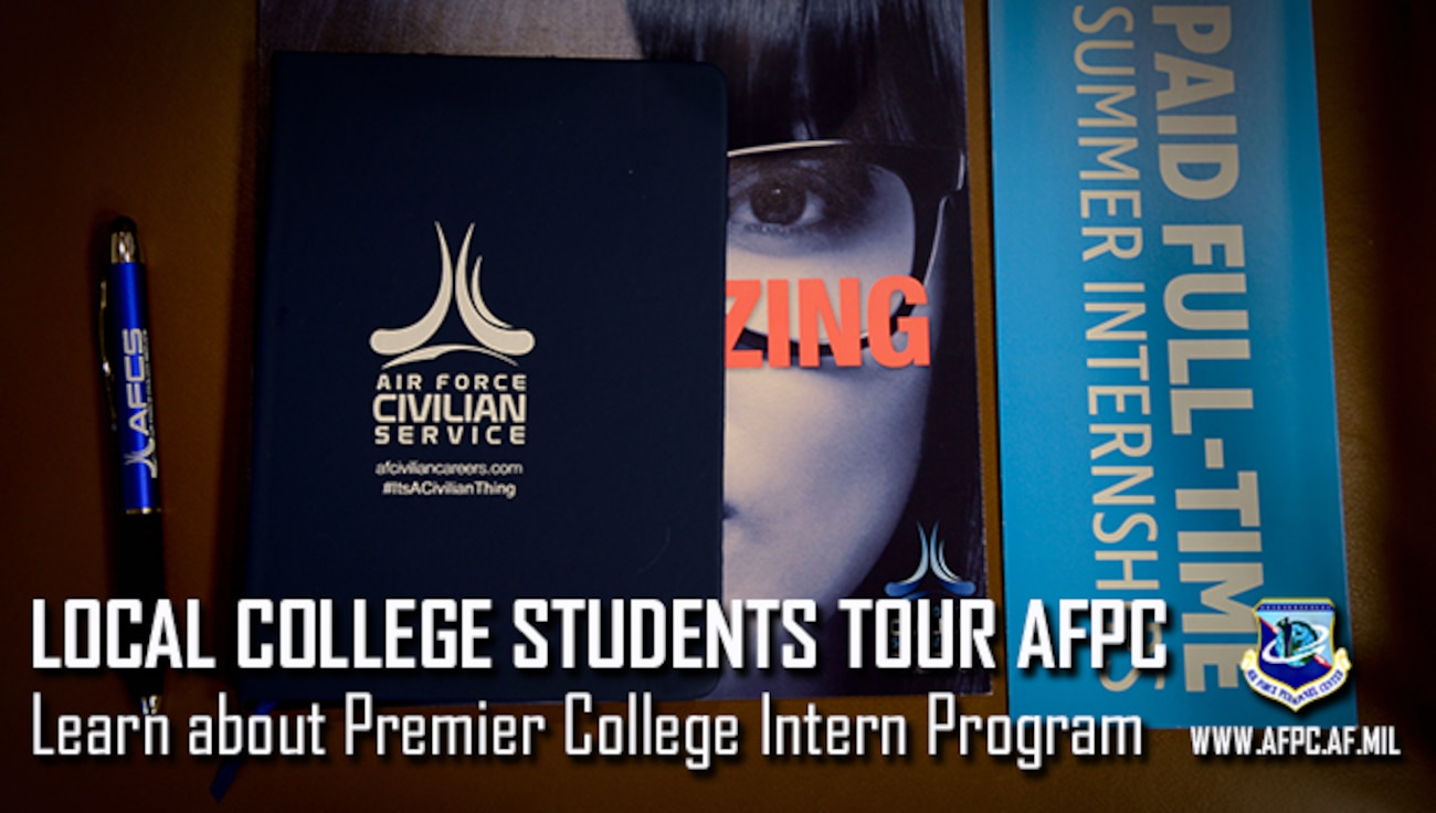 AFPC showcases Premier College Intern Program to local students