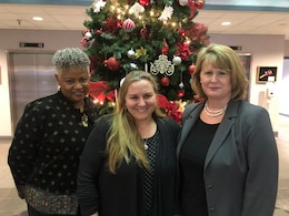 Three U.S. Army Engineering and Support Center, Huntsville employees, Marsha Jackson with Engineering Directorate, Tara Clark with Ordnance and Explosives Directorate, and Lisa Hendrix with Contracting Directorate, have been selected to participate in the U.S. Army Corps of Engineers' 2019 Special Projects and Professional Development program. They will each work at Headquarters USACE in Washington D.C., for 120 days.