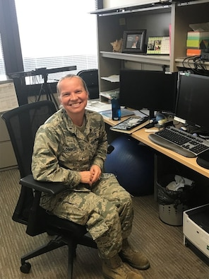 1st Lt. Danielle Dockery is a licensed clinical social worker with the 88th Medical Group's Intensive Outpatient Program. (Courtesy photo)