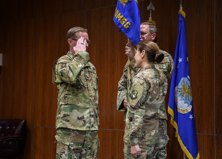 Lt. Col. Katherina Donovan assumed command of the 919th Special Operations Mission Support Group in a ceremony held at Duke Field, Fla. Dec. 2, 2018.