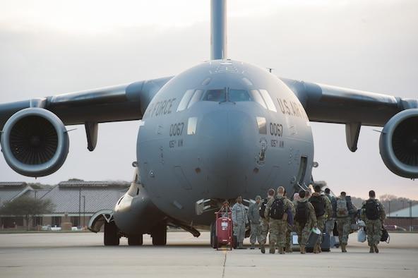 JBLE Airmen deploy