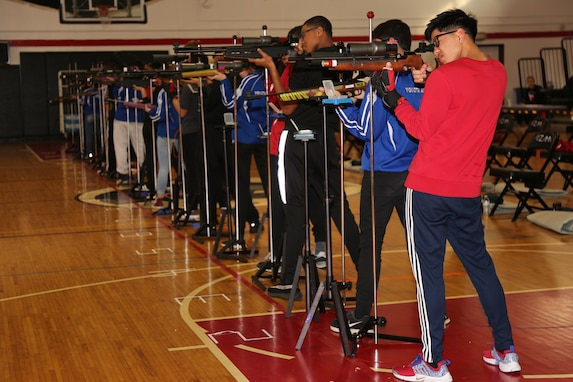 Zama JROTC Places Second in Pacific East District Air Rifle Competition