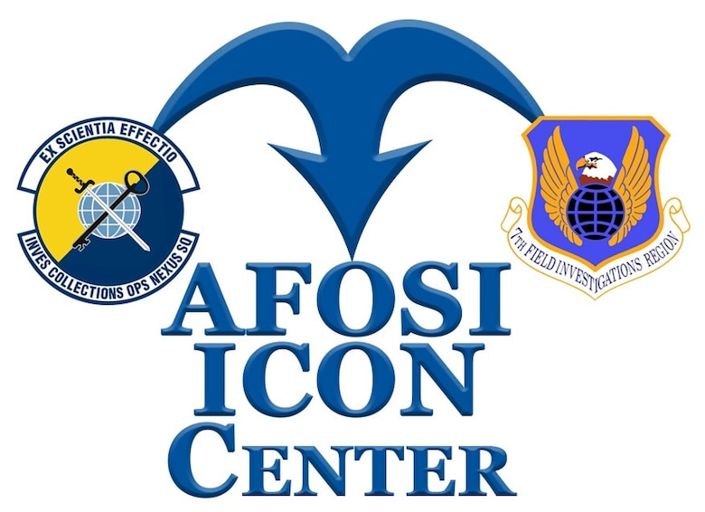 The Air Force Office of Special Investigations, Investigations, Collections and Operations Nexus (ICON) and AFOSI Field Investigations Region 7 merged May 3, 2018, creating a more efficient organization to enhance AFOSI mission effectiveness. One year later the AFOSI ICON Center is hitting its stride executing its mission across the global enterprise. (AFOSI graphic by Mr. Albert Tubbs)