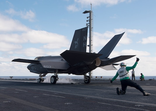 VFA-147 Completes Carrier Qualifications, Fully Certified Safe-for-Flight in F-35C
