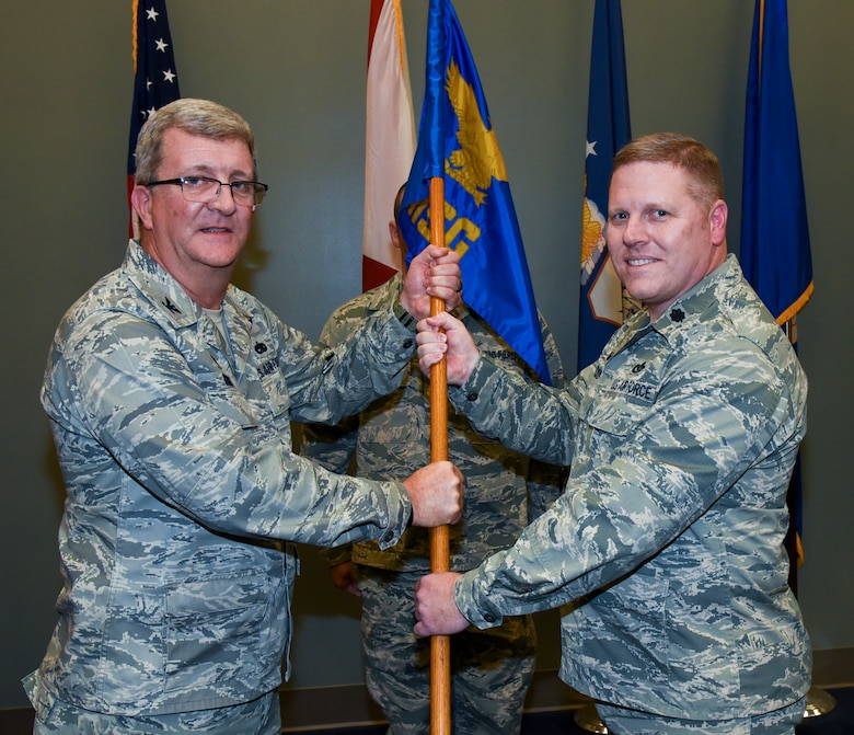117 ARW Birmingham Change of Command