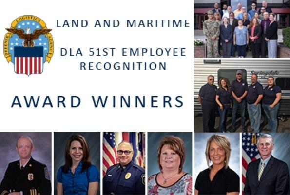 DLA 51st Employee Recognition Award Winners