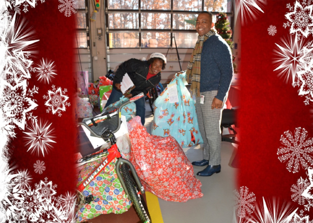 Angels among us donate to children in need