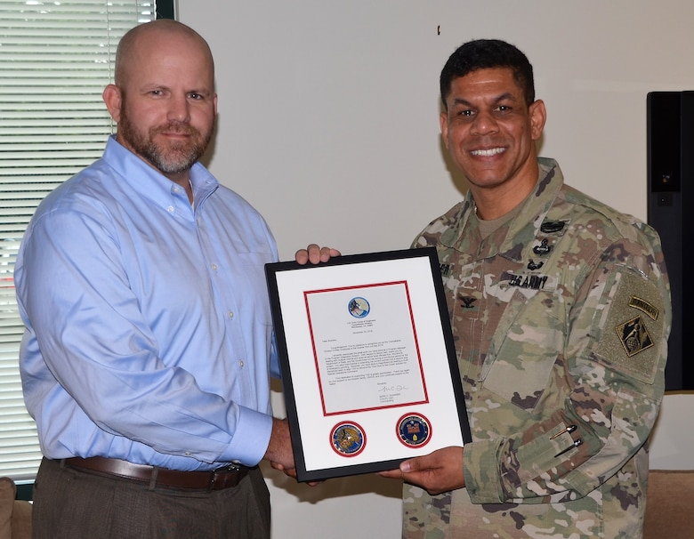 Division recognizes Chance as Employee of Quarter