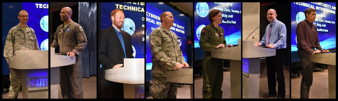 The Air Force Institute of Technology (AFIT) School of Systems and Logistics hosted the first ever System Theoretic Process Analysis (STPA) Cybersecurity and Safety Technical Interchange Meeting (TIM) on 22-23 October 2018. The TIM identified how USAF Program Managers and Engineers can use STPA to manage complex acquisition problems. (U.S. Air Force photo by Mr. Michael Madero)