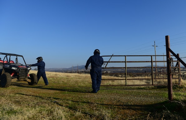 Perimeter Patrols: 9th SFS provides base security on UTVs
