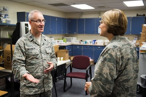 U.S. Air Force airmen from the 133rd and 148th Medical Group, Minnesota Air National Guard, partner with reservists from around the country to provide medical care services during Innovative Readiness Training at Cass Lake-Bena High School in Cass Lake, Minn., July 13, 2017.