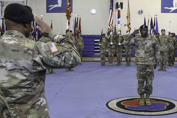 19th Expeditionary Sustainment Command Welcomes New Command Sergeant Major