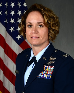 The 47th Operations Group welcomed its new commander during an assumption of command ceremony on Nov. 27, 2018 at Laughlin Air Force Base, Texas. U.S. Air Force Col. Carey Jones assumed command of 47th OG, becoming its first female commander. With healing, encouragement and mentorship, she believes the squadrons will be able to produce the world's best pilots. (U.S. Air Force photo by Airman 1st Class Anne McCready)