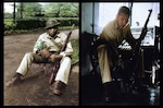 WWII photos of Maximino Vincent Razo