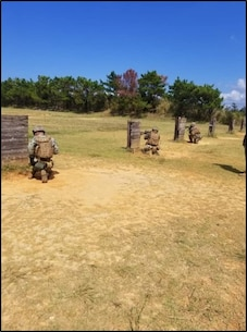 Island Warriors conduct Designated Marksmanship training