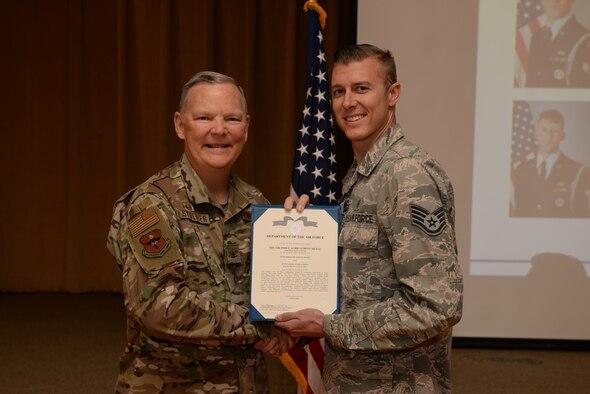 Luke AFB Recognizes 12 Honor Guardsmen