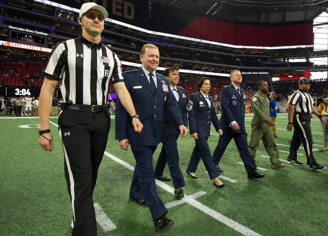 Air Force Reserve hosts 2018 Celebration Bowl