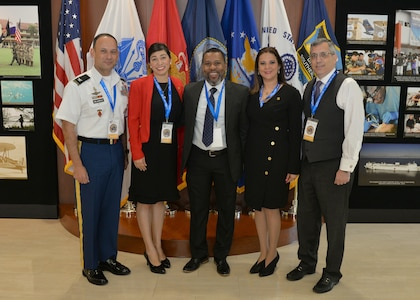 Group photo of the 2nd Humanitarian Assistance and Disaster Relief workshop in Miami.