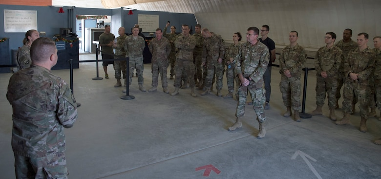 386th ELRS celebrate reopening of Marauder's Launchpad