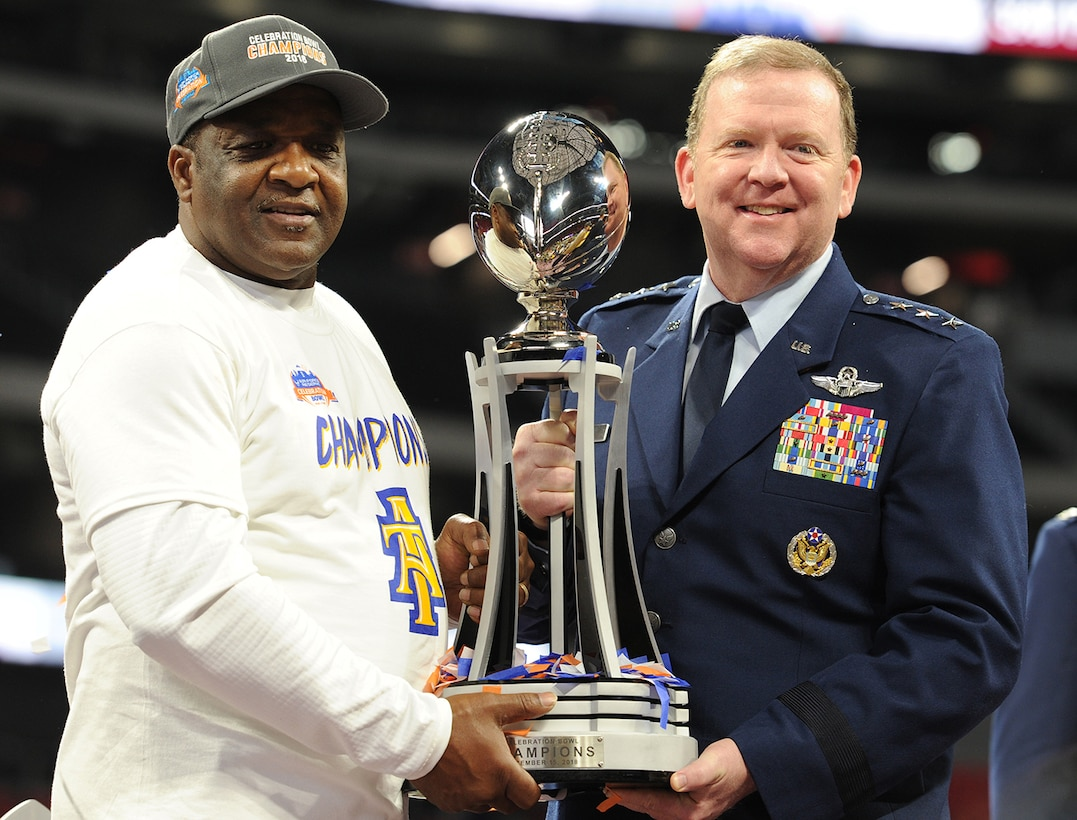 Air Force Reserve returns as title sponsor of the 2018 Celebration Bowl