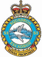 51 Aerospace Control and Warning (Operational Training) Squadron is a Royal Canadian Air Force unit based at the 22 Wing at Canadian Forces Base North Bay, Ontario.  The squadron is responsible for the operations and readiness training for RCAF personnel destined to work in the Canadian Air Defence Sector. (Courtesy photo)