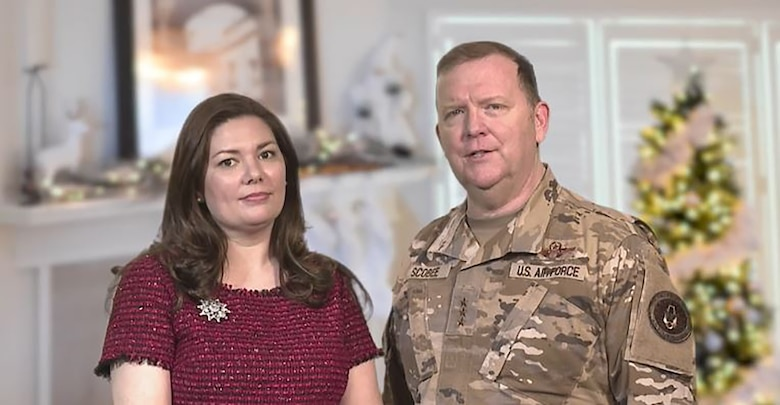 Lt. Gen. Rich Scobee and his wife Janis send their warmest holiday greetings from their family to yours... HAPPY HOLIDAYS!