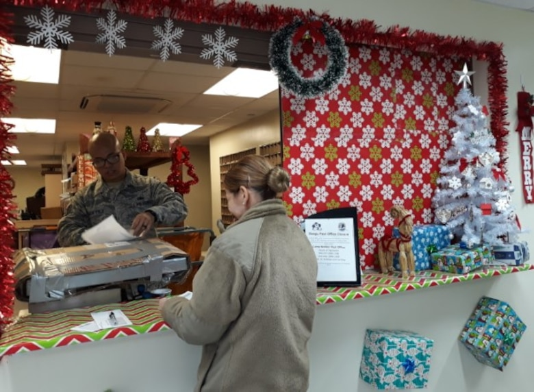 Packing, tracking and delivering mail during the holidays