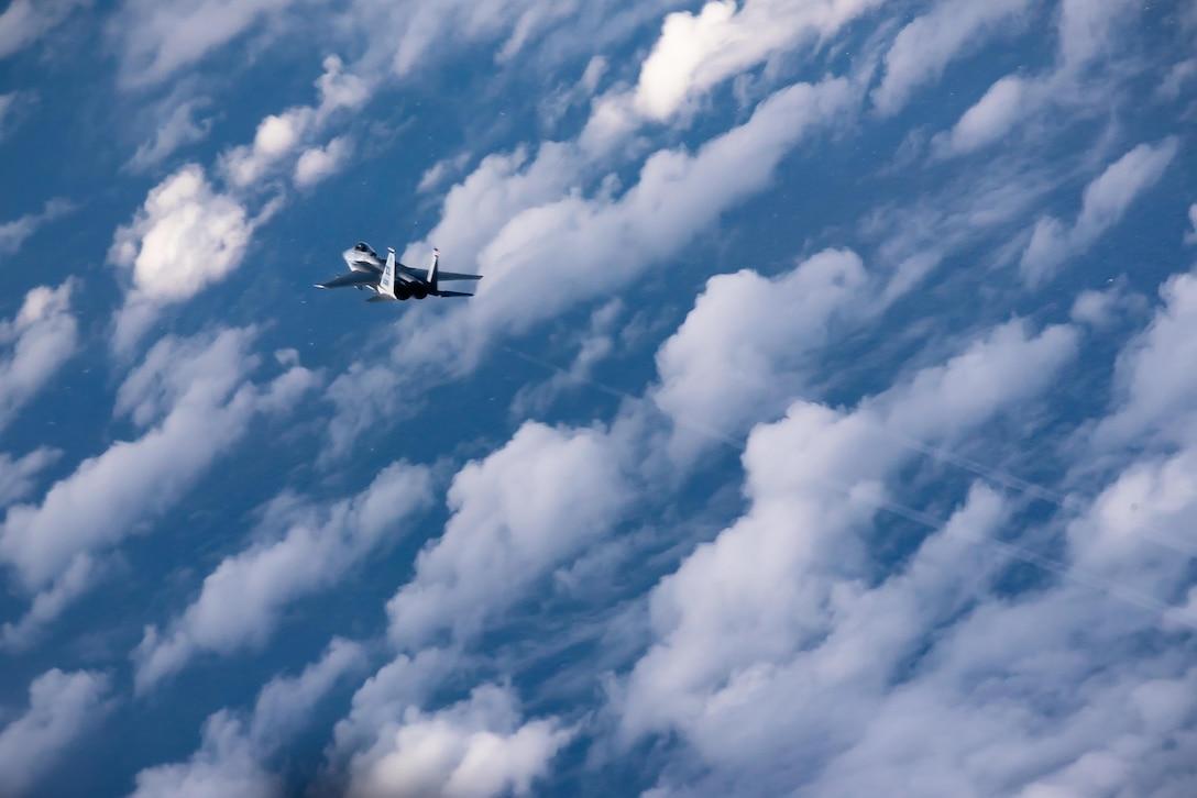Kadena Eagles Soar Over East China Sea