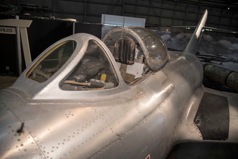 DAYTON, Ohio -- Mikoyan-Gurevich MiG-15 on display in the Korean War Gallery at the National Museum of the United States Air Force. (U.S. Air Force photo by Ken LaRock)