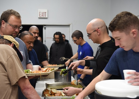 With an average of almost 100 people, The Good Samaritan Bridgehouse Shelter in Lompoc, Calif. houses and feeds those in need daily, Dec. 20, 2018. For approximately 27 years, Good Samaritan Shelter has focused on its commitment to provide emergency, transitional and affordable housing with support services to the homeless and those in recovery throughout the Central Coast.