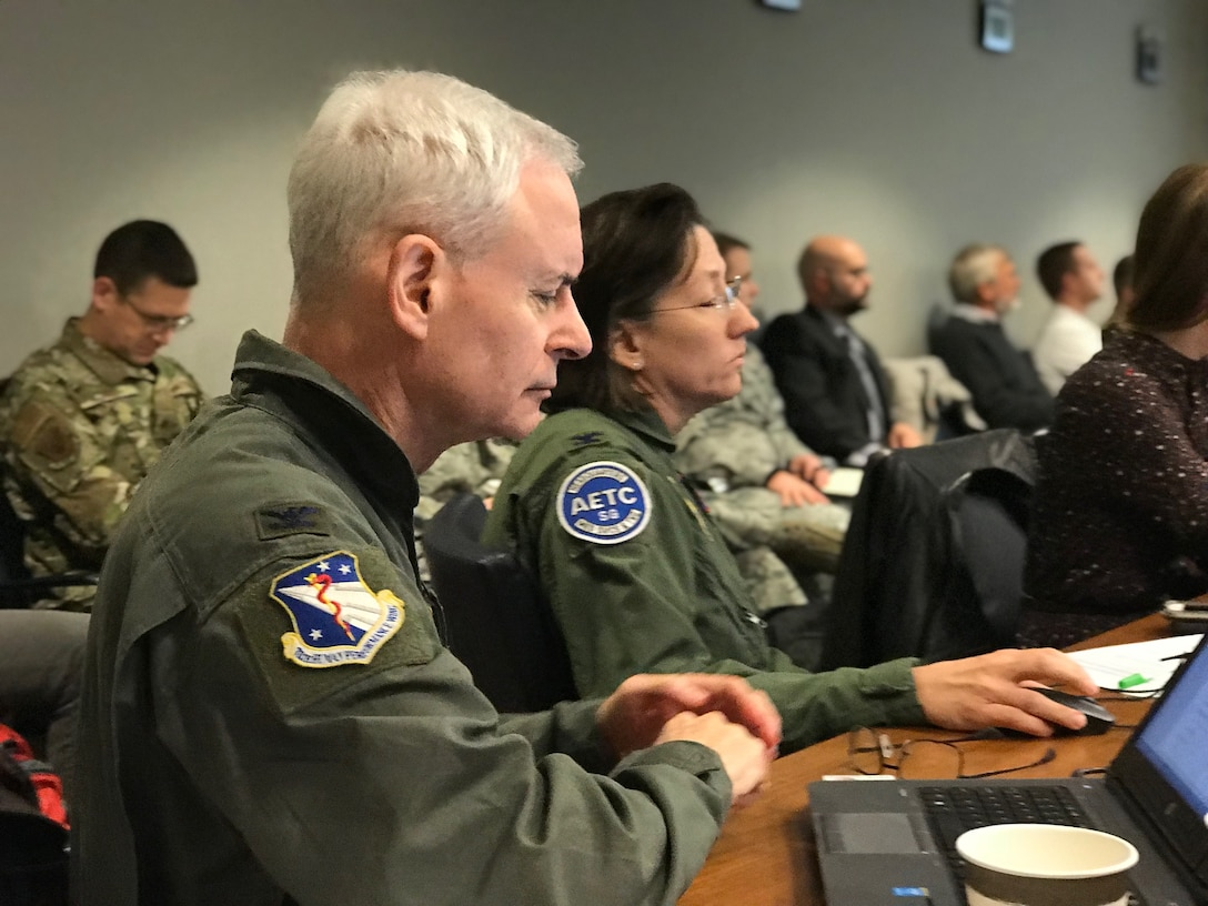 "The Air Force Physiological Episodes Action Team, or AF PEAT,recently held a ""hackathon"" to update the service-wide roadmap to mitigate physiological episodes. Hackathons"