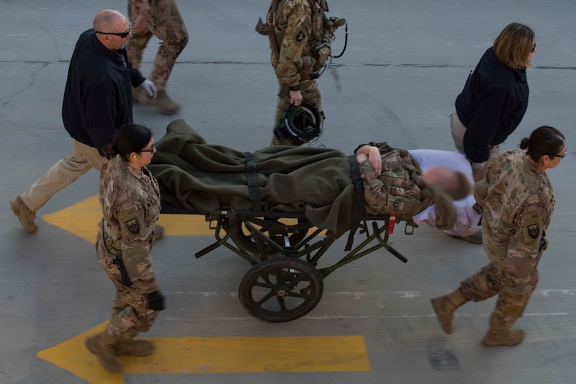 The 455th EMDG is the medical component of Task Force Medical-Afghanistan, providing combat medical services and support to U.S. and coalition forces throughout Afghanistan.