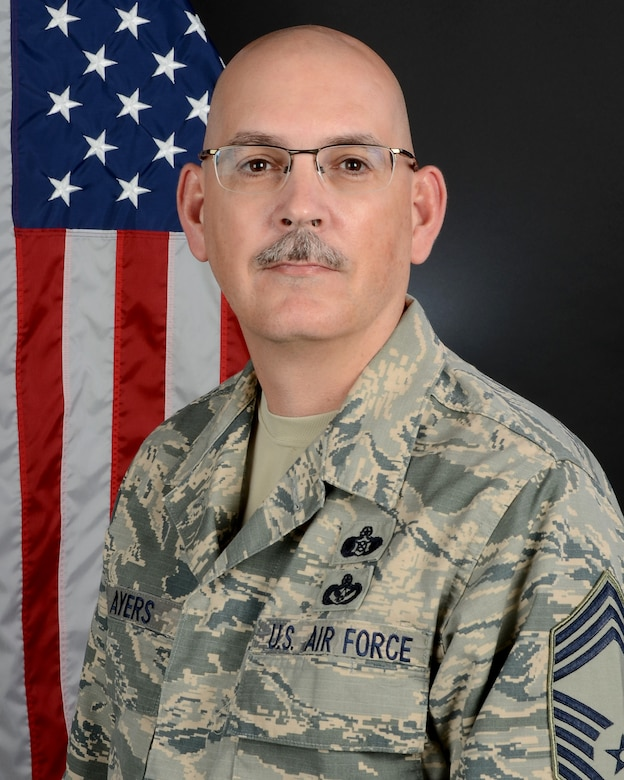 Chief Master Sgt. Dwayne Ayers, the Chief of Emergency Management with the 169th Civil Engineer Squadron