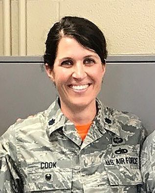 Lt. Col. Erin Cook, 349th Maintenance Group