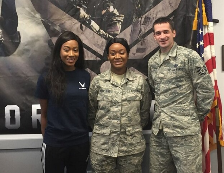 Family joins USAF together