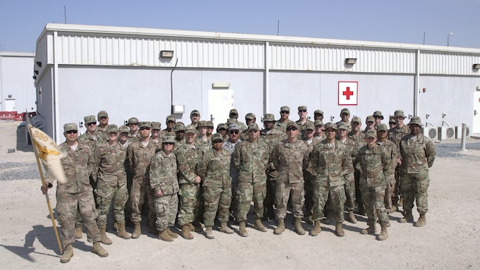 The 380th Expeditionary Medical Group is responsible for ensuring the physical and mental readiness for all Airmen and partners deployed to Al Dhafra Air Base. Their medical expertise and dedication to helping our troops makes the mission.
