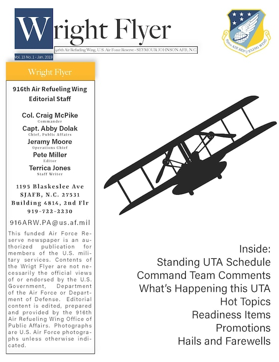 The official newsletter of the 916th ARW.