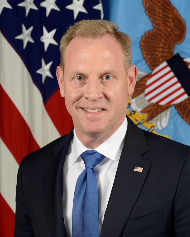 Portrait photo of Patrick M. Shanahan