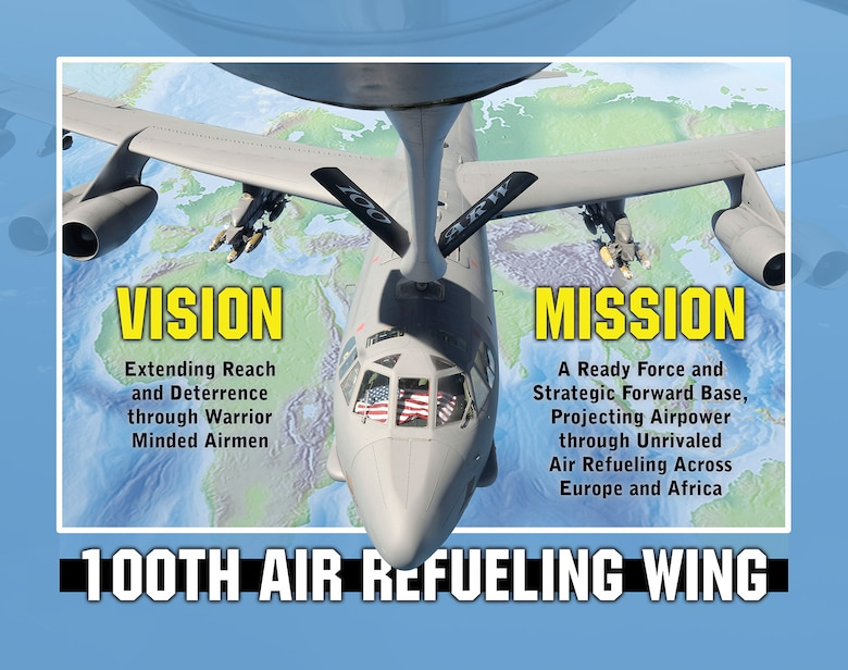 100th Air Refueling Wing Vision and Mission