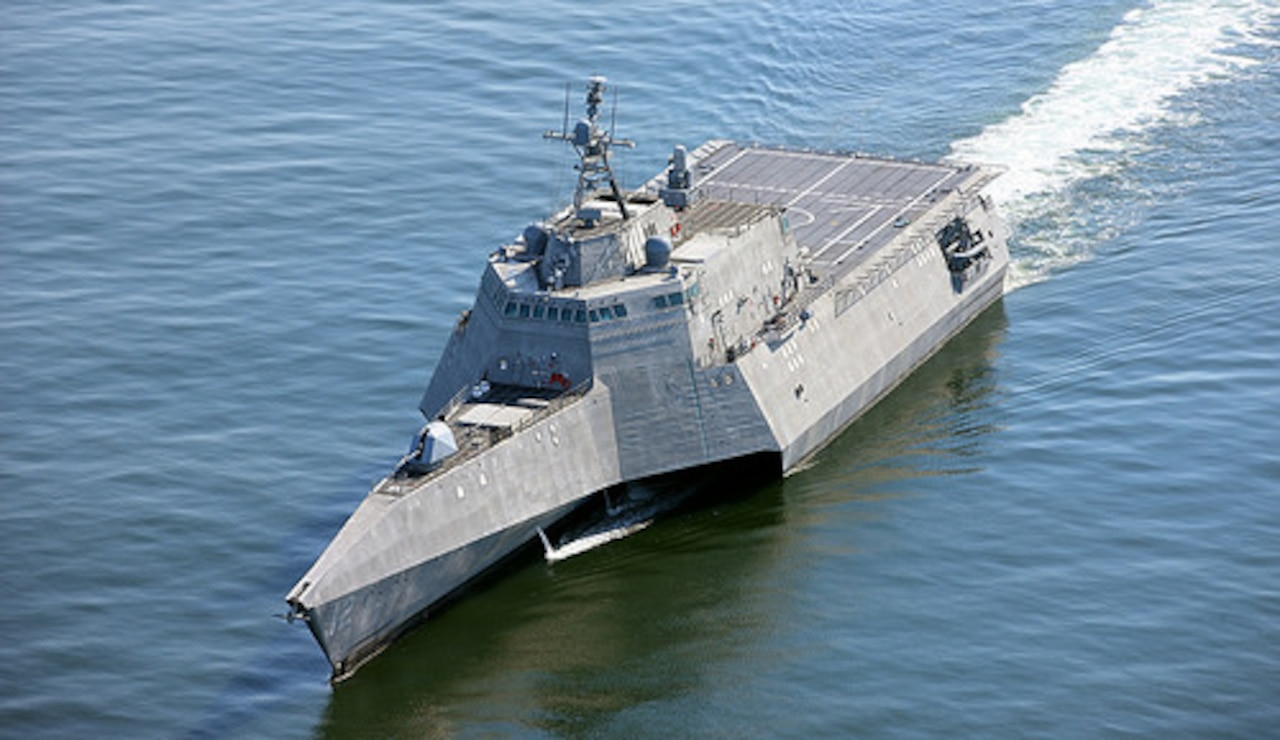 The future USS Omaha.