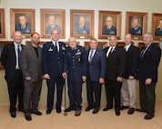 Group photo of former USAFSAM commanders